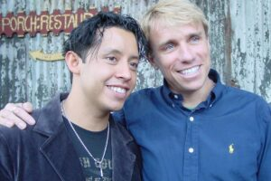 Cary Harrison_Harrison and PEDRO (Efran Ramirez)
